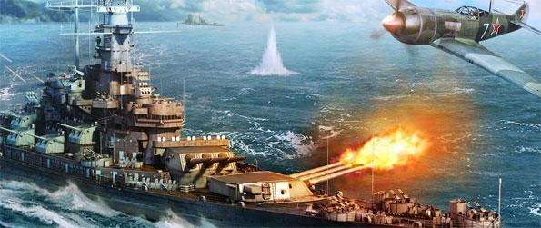 Fleet Glory - Choose from a healthy selection of World War II warships in Fleet Glory and decimate your enemies on the blue sea.