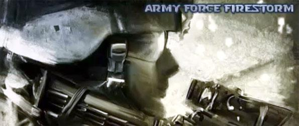 Army Force Firestorm - Experience the ultimate military shooting action.
