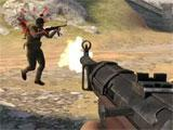 Shooting with the M3 Grease Gun in World War Heroes