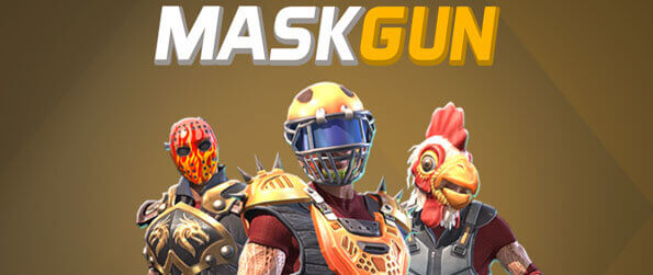 MaskGun - Experience a fast-paced and intense action with simple controls and fast respawn times.