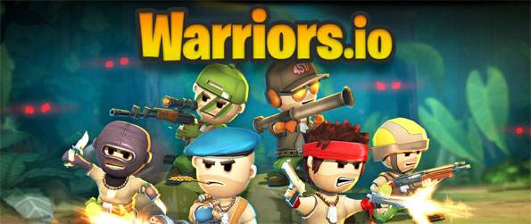 Warriors.io - Play this delightful top-down battle royale game that offers an intense and exhilarating experience.