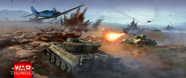 War Thunder - Take to the skies with your trusty 1900s-era warplane, shoot down your enemies, and become the esteemed ace in War Thunder!