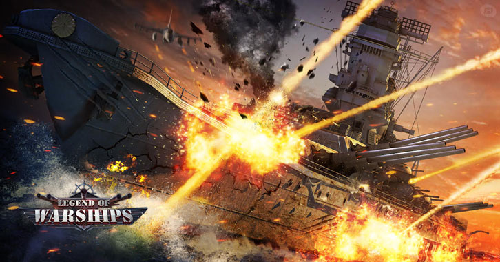 Dominate the Naval Battle in Legend of Warships
