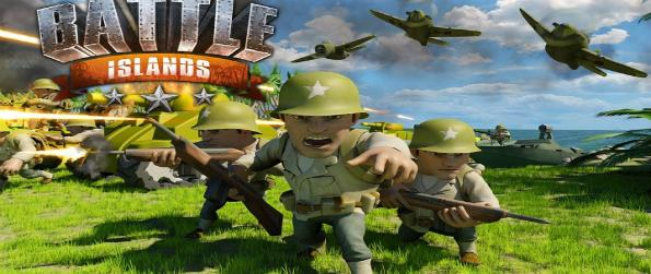 Battle Islands - Control the air, sky, and land by building a powerful base in Battle Islands, a World War 2-themed strategy game.