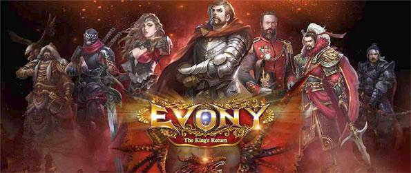 Evony: The King's Return - Rule your own kingdom in this phenomenal MMORTS game that you can enjoy on the go.
