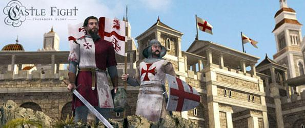 Castle Fight: Crusader's Glory - A very interesting take on the First Crusades as incorporated in a game of tactics, social media and strategy.
