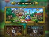 Main menu in the game