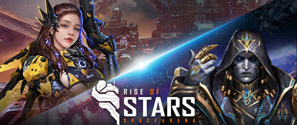 Rise of Stars - Build your own kingdom out in the space and defend it from the enemy troops in this captivating strategy game that impresses on every front.