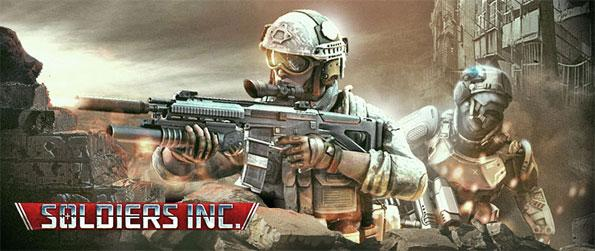 Soldiers Inc - Play this exciting MMORTS game in which you'll get to take control of an entire army.
