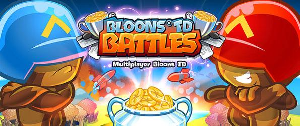 Bloons TD Battles - Defend your monkey town against various types of bloons in this fun multiplayer tower defense game, Bloons TD Battles!