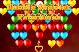 Bubble Shooter Valentines thumb