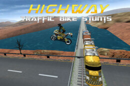 Highway Traffic Bike Stunts thumb