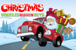 Christmas Vehicles Hidden Keys thumb