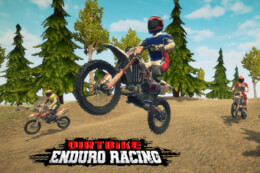 Dirt Bike Enduro Racing thumb