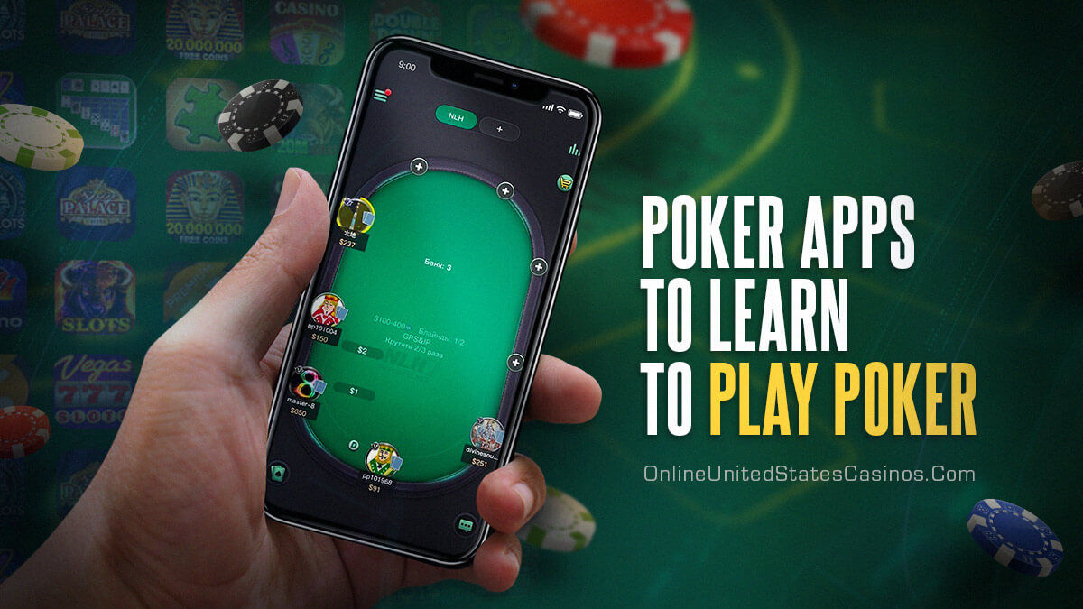 Apps to help you learn Poker