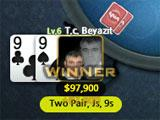No Limit Poker winning hand