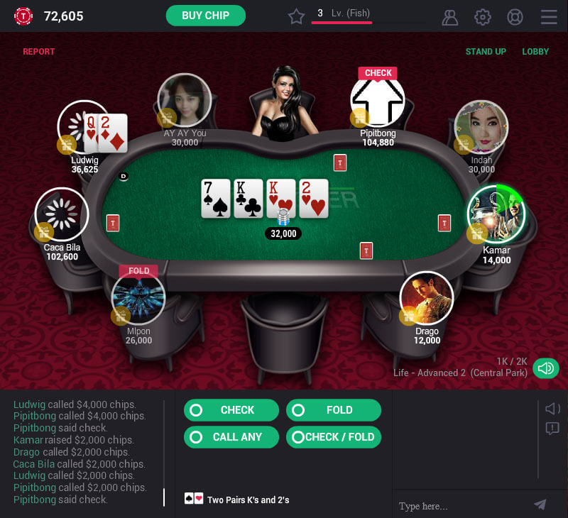 Turn Texas Holdem Poker Poker Worldz