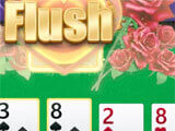 Hitting a flush in the game