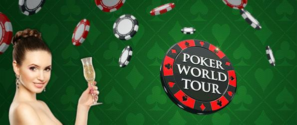 Poker World Tour - Are you ready to take on real opponents in a game of Poker?