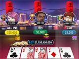 Different themes in Jackpot Poker by PokerStars