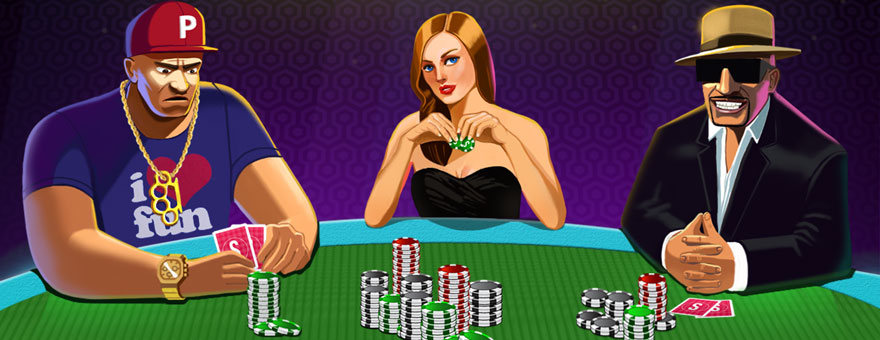 The Appeal of Online Poker Games  large