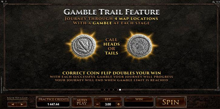 Game of Thrones Slot - Gamble Trail