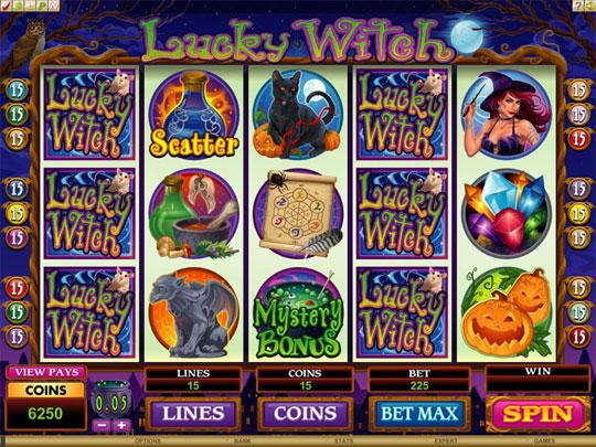 Witch Machine in Lucky Slots