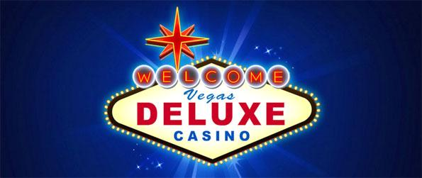 Vegas Deluxe Slots - Play a large library of slot machine games, each with exciting prizes.
