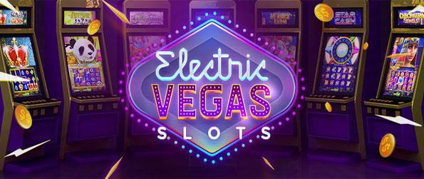 Electric Vegas Slots - Win big in this addictive slots game that delivers everything you'd expect from this genre.
