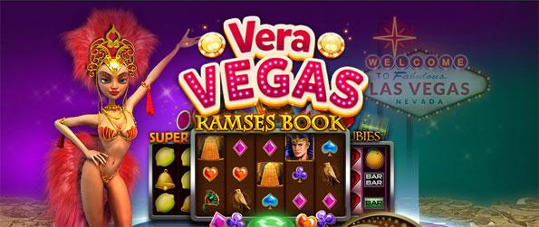 Vera Vegas - Choose from a large library of beautifully designed slot machine games.