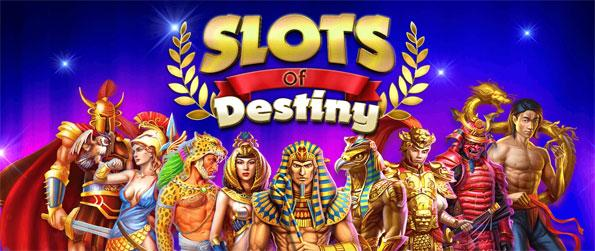 Slots of Destiny - Try your luck in this addicting slots game that you can enjoy on the go on your mobile phone.