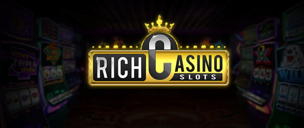 Rich Casino Slots - Make your virtual self staggeringly rich in this casino.
