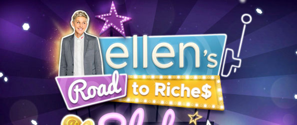 Ellen's Road to Riches Slots - Join Ellen on an exciting journey through various slot machine games.