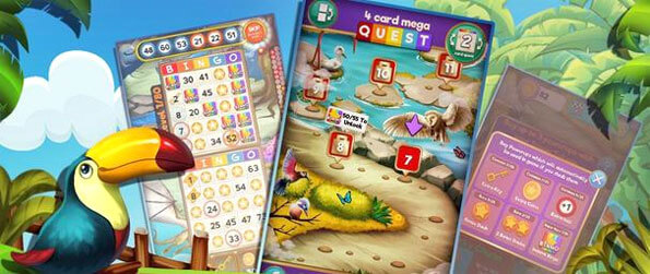 Bingo Tropical Haven - Test your bingo skills in this exciting game that you'll be hooked on from the first minute.