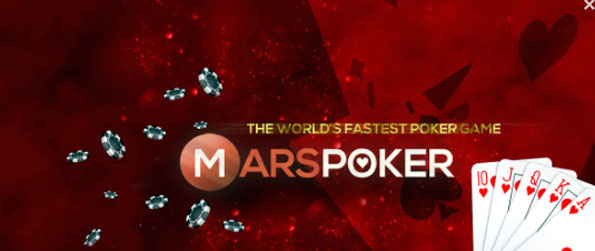 Mars Poker Texas HoldEm - Outsmart your fellow players and take home the pot.