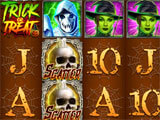 Farkle Mania Halloween themed slot machine