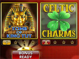 Slot Machines with Bonus Games! main menu