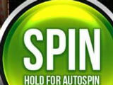 Spin button in Slots Jaguar King Casino