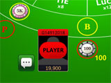 Placing bet in the game