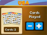 Selecting number of cards