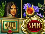 Slot machine in the game