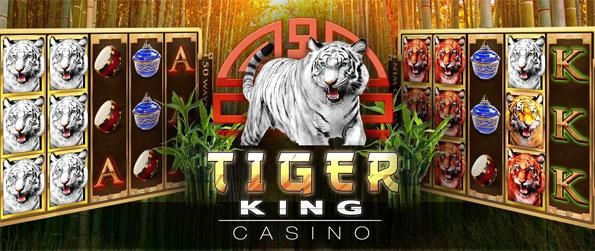 Tiger King Casino - Enjoy a fantastic slots game where you can win big prizes from small bets.