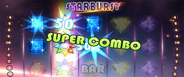 Starburst Casino - Enjoy the gleaming spectacle of different gems in this brilliantly designed sots game in Facebook.