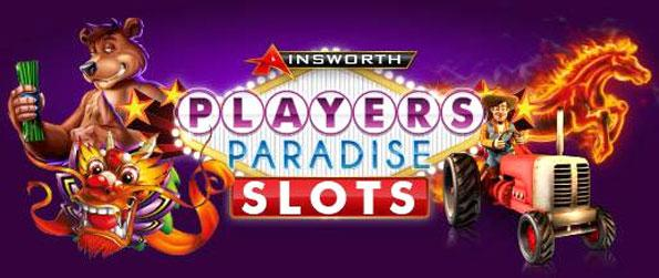 Players Paradise Slots - Try your luck on a huge variety of unique themed slot machines in Players Paradise Slots.