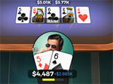 Playing Poker in Downtown Casino: Texas Hold'em Poker