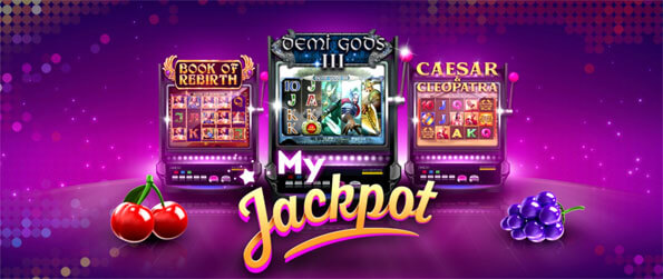 MyJackpot - Enjoy this exceptional slots game that'll have you glued to your screen for countless hours as you try to win big.