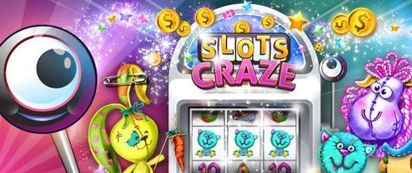 Slots Craze - Take a spin on a huge variety of fun and animated slot machines.