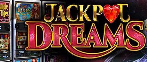 Jackpot Dreams Casino - Hit that spin button to roll the reels of fortune in this wonderful game that collects a hefty number of gorgeously crafted slot machines to play under one title - Jackpot Dreams Casino.