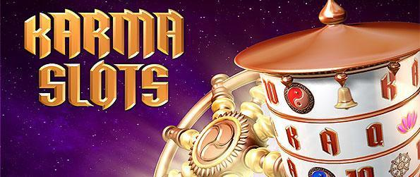 Karma Slots - Join real-time tournaments and win exclusive talismans that will bring you luck in this unique double direction vertical slots game in Facebook.