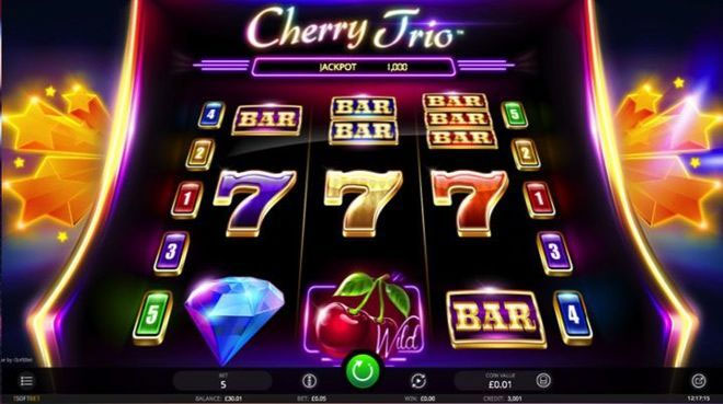 One of the many slots games available with free spins.